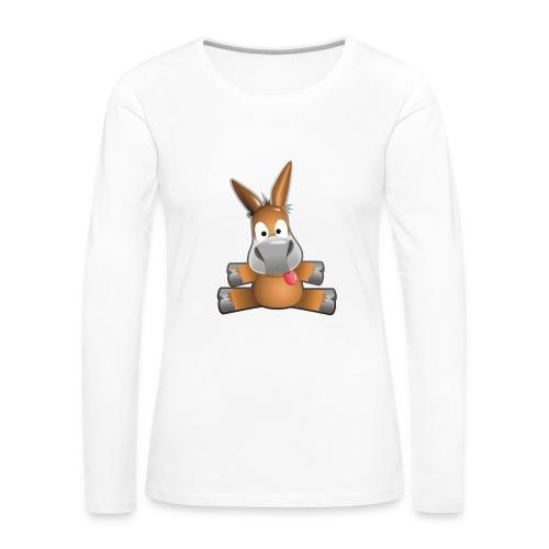 eMule Women's T-Shirt - Women's Premium Longsleeve Shirt