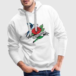 rockabilly tattoo retro patjila T-Shirts - Men's Premium Hoodie