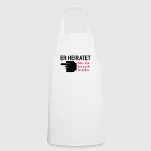 er_heiratet T-Shirts - Kochschürze