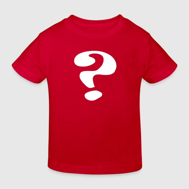 questionmark / Fragezeichen / point d'interrogation Camisetas niños - Camiseta ecológica niño