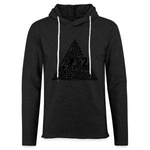 shirt maya pyramide 21.12. - Leichtes Kapuzensweatshirt Unisex
