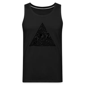 shirt maya pyramide 21.12. - Männer Premium Tank Top