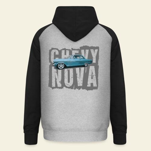 Chevy Nova Hoodie - Unisex baseball hoodie