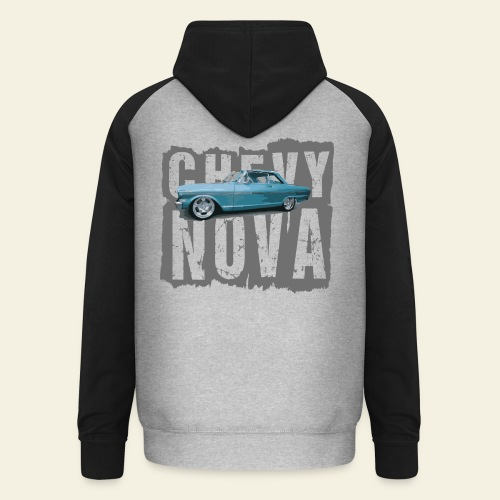 Chevy Nova - Unisex baseball hoodie