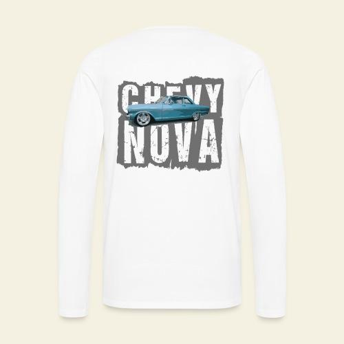 Chevy Nova Hoodie - Herre premium T-shirt med lange ærmer