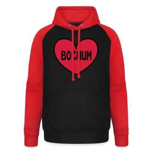 Bochum Herz - Frauen Kapuzenpulli - Unisex Baseball Hoodie