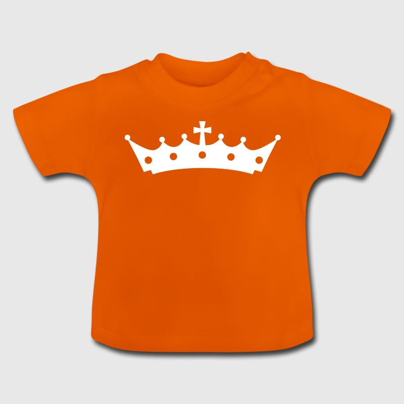 Crown with Cross Camisetas Bebés - Camiseta bebé