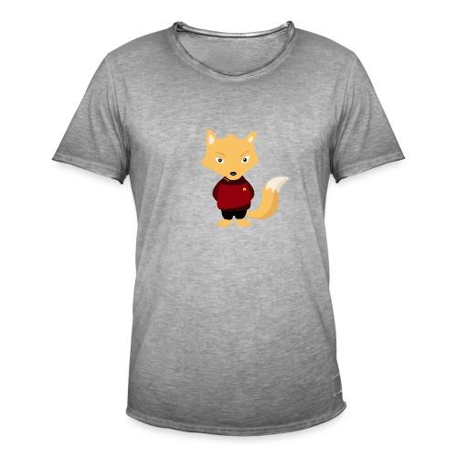 Renard Star Trek - T-shirt Geek - T-shirt vintage Homme