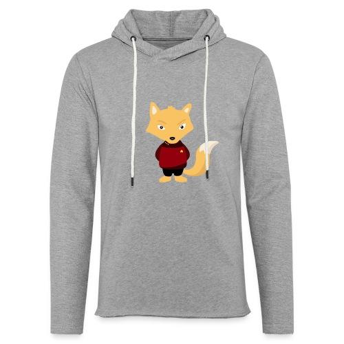 Renard Star Trek - T-shirt Geek - Sweat-shirt à capuche léger unisexe
