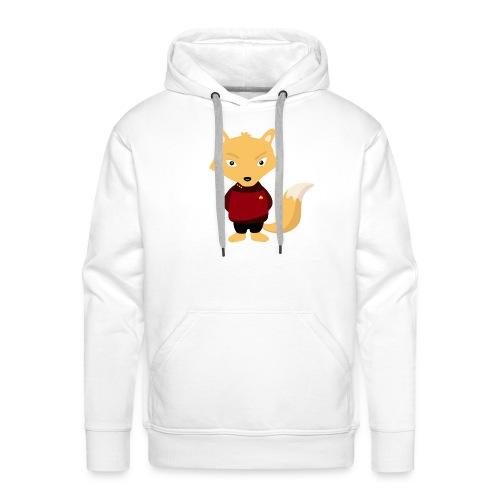 Renard Star Trek - T-shirt Geek - Sweat-shirt à capuche Premium pour hommes