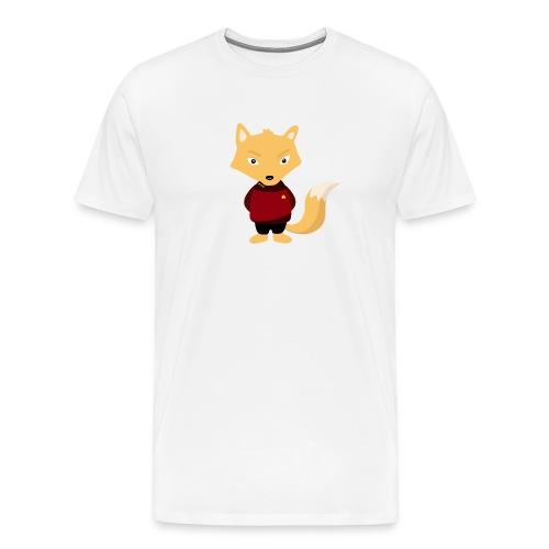 Renard Star Trek - T-shirt Geek - T-shirt Premium Homme