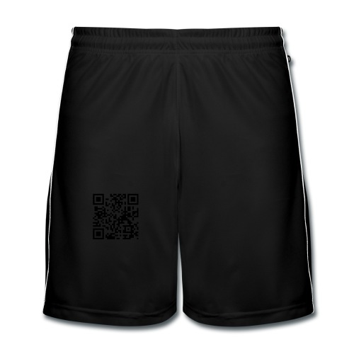 QR Code Geek - T-shirt Homme - Short de football Homme