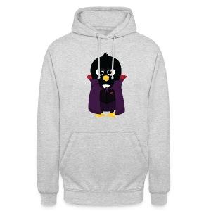 Pingouin Vampire - T-shirt Geek - Sweat-shirt à capuche unisexe
