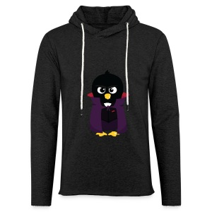 Pingouin Vampire - T-shirt Geek - Sweat-shirt à capuche léger unisexe