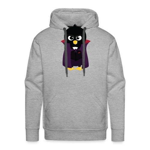 Pingouin Vampire - T-shirt Geek - Sweat-shirt à capuche Premium pour hommes