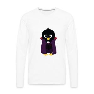 Pingouin Vampire - T-shirt Geek - T-shirt manches longues Premium Homme