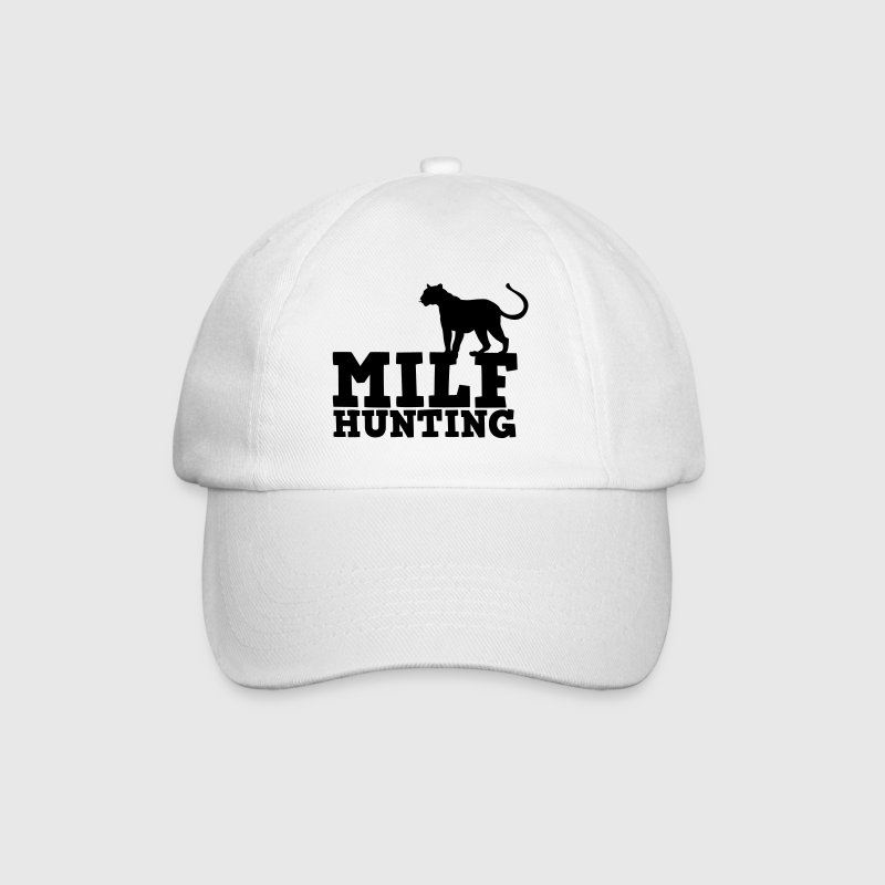 milf hunting with cougar cat tail up Caps & Hats - Baseball Cap