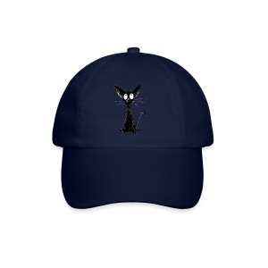 Funny Little Cute Black Cat - Baseball Cap