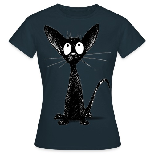 Funny Little Cute Black Cat