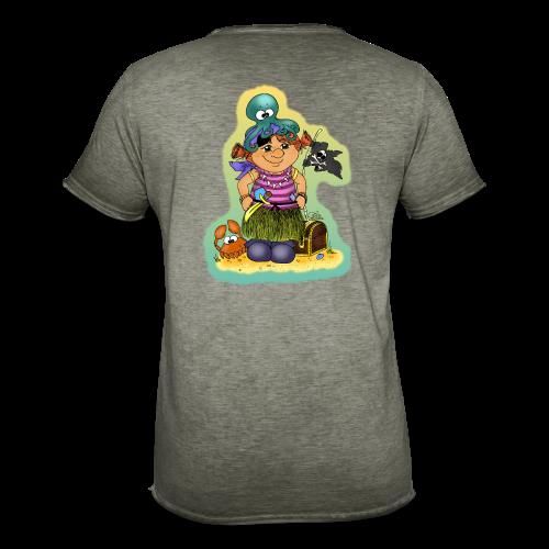 KinderShirt Ahoi, kloine Piroaadin - Männer Vintage T-Shirt