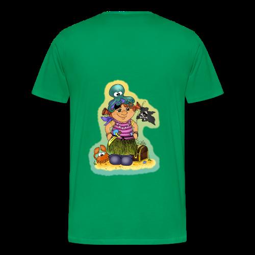 KinderShirt Ahoi, kloine Piroaadin - Männer Premium T-Shirt
