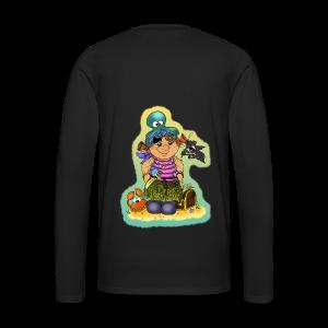 KinderShirt Ahoi, kloine Piroaadin - Männer Premium Langarmshirt