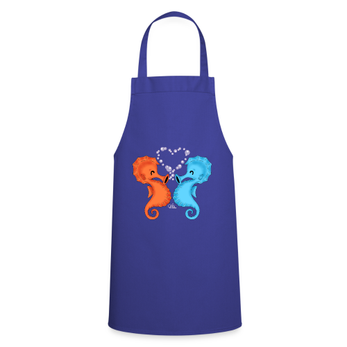 KinderShirt Seepferdchenliebe - Kochschürze