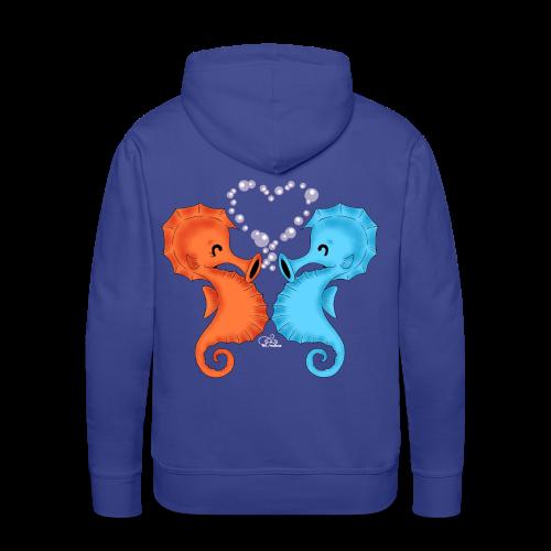 KinderShirt Seepferdchenliebe - Männer Premium Hoodie