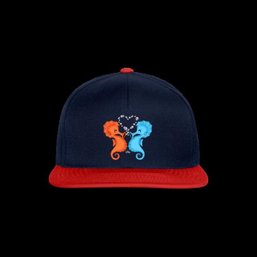 KinderShirt Seepferdchenliebe - Snapback Cap