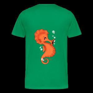 KinderShirt Seelina Seepferdchen - Männer Premium T-Shirt