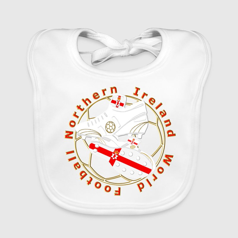 northern ireland football crest Accessories - Baby Organic Bib