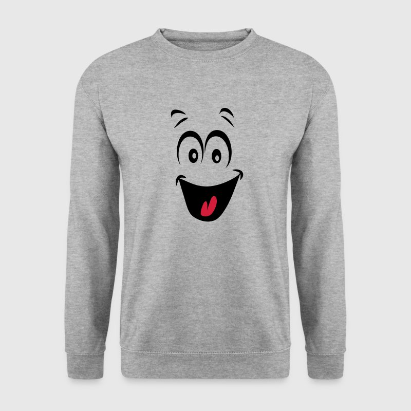 smiley joyeux humeur1 Sweat-shirts - Sweat-shirt Homme