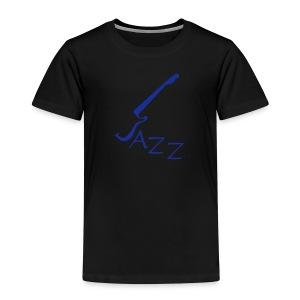T-shirt  für Jazzliebhaber mit Motivschriftzug Jazz  - Kinder Premium T-Shirt