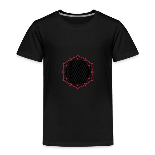 Blume des Lebens - punched - L o t u s | Rucksack - Kinder Premium T-Shirt
