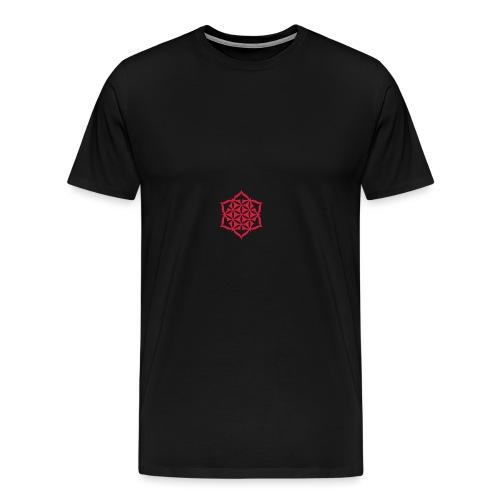 Flower of Life - L o t u s - 01 | Rucksack - Männer Premium T-Shirt
