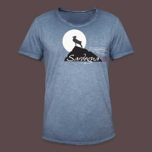 Muflone - Maglietta vintage da uomo