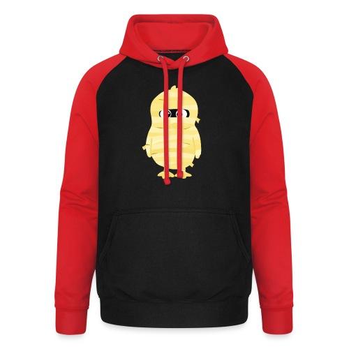 Pingouin Momie - T-shirt Geek - Sweat-shirt baseball unisexe