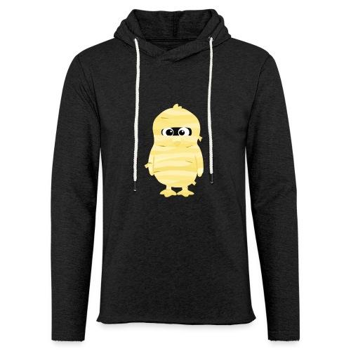 Pingouin Momie - T-shirt Geek - Sweat-shirt à capuche léger unisexe
