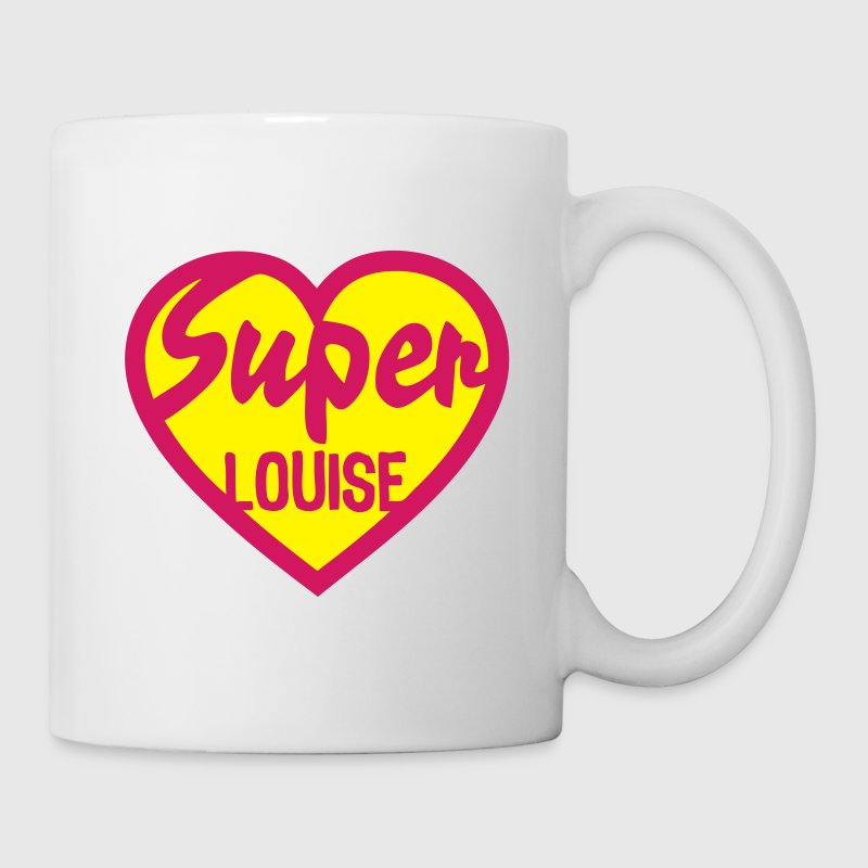 heart heart super louise - Mug