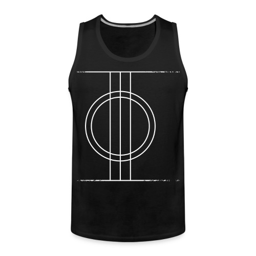 Sapmi black - Premium singlet for menn