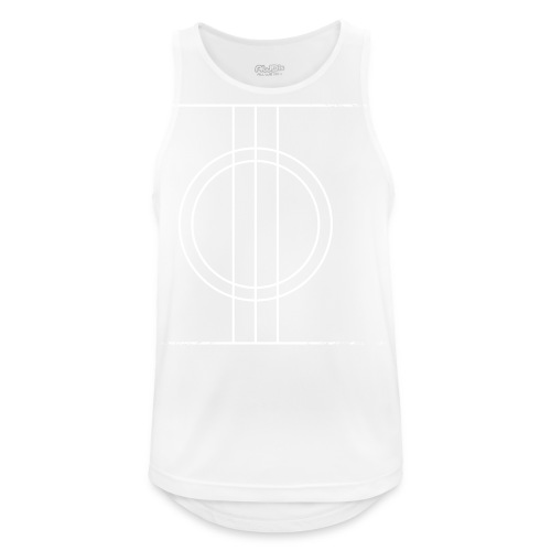 Sapmi black - Pustende singlet for menn