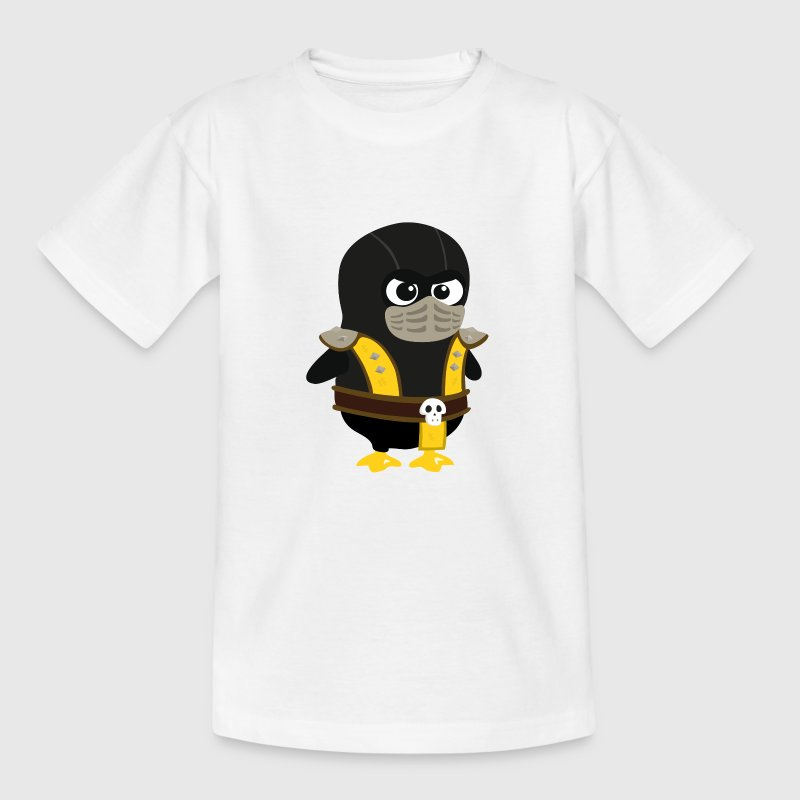 Pingouin Mortal Scorpion Tee shirts Enfants - T-shirt Enfant