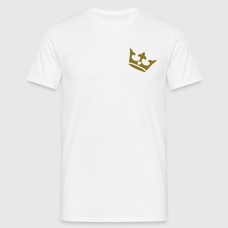 crown, heart T-Shirts - Men's T-Shirt