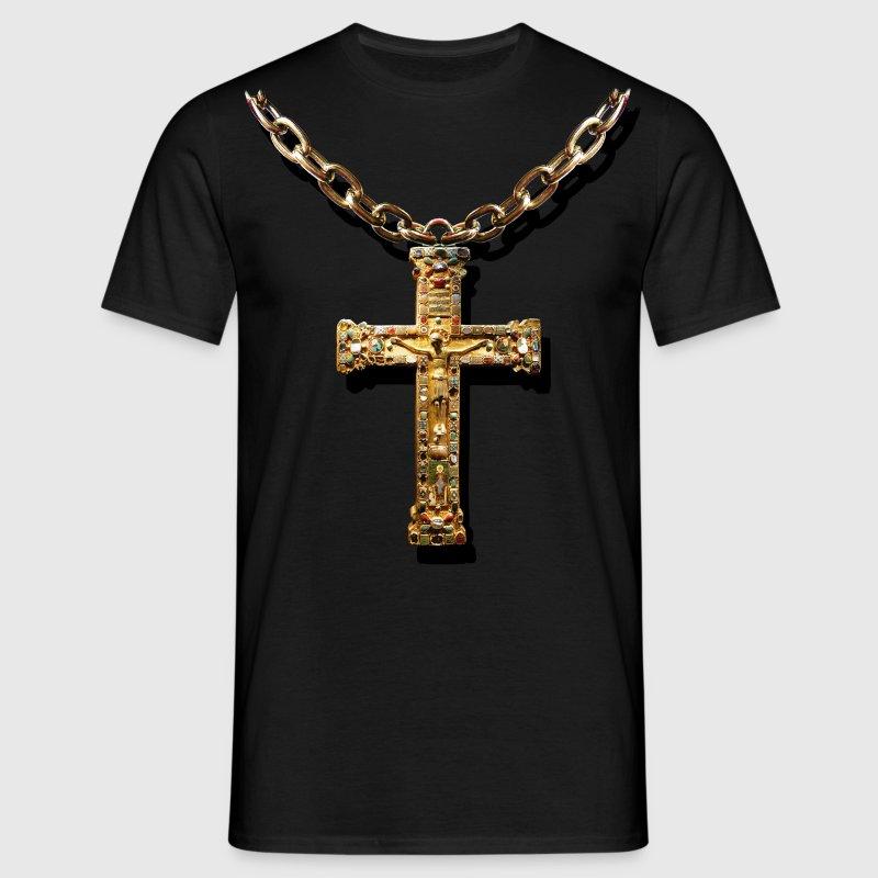 crucifix - Herre-T-shirt