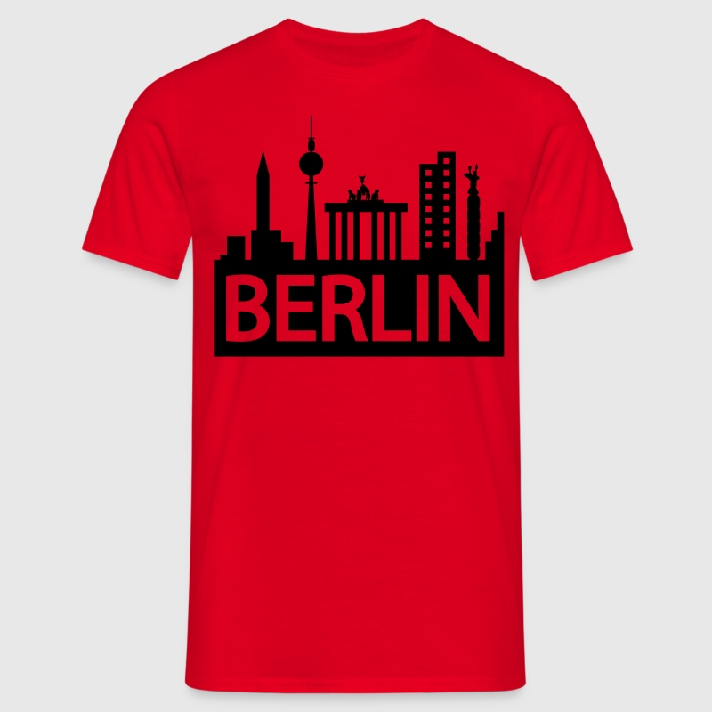 Berlin skyline T-Shirts - Men's T-Shirt