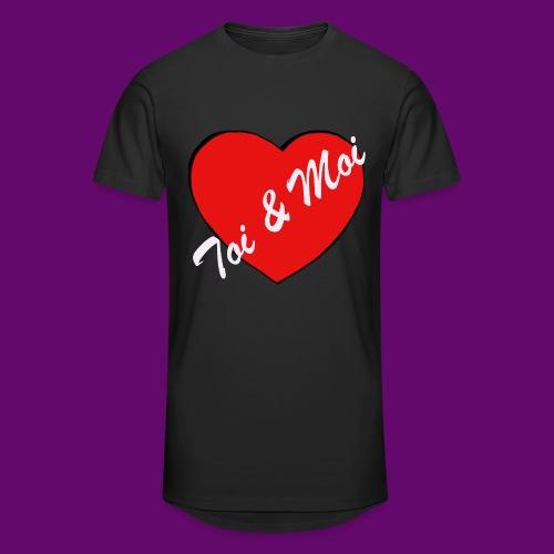 toi et Moi - T-shirt long Homme