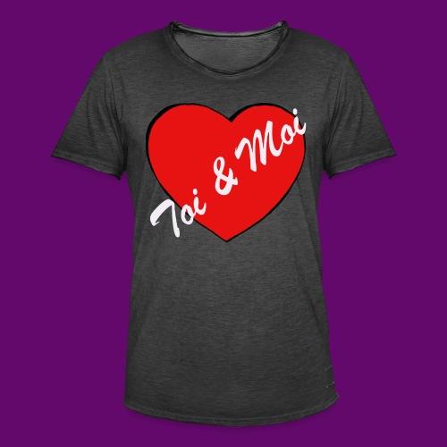 toi et Moi - T-shirt vintage Homme