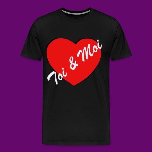 toi et Moi - T-shirt Premium Homme