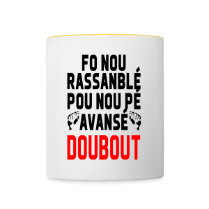DOUBOUT Collection - Tasse bicolore