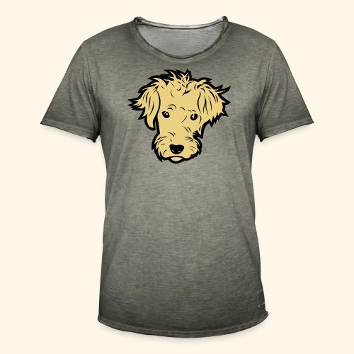 Wuschelhund, Kerlie - Männer Vintage T-Shirt